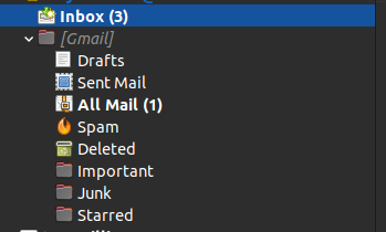 Figure 3: All Mail